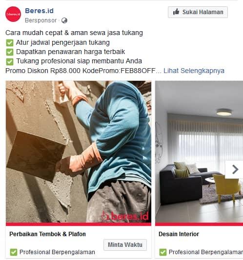 iklan di sosial media