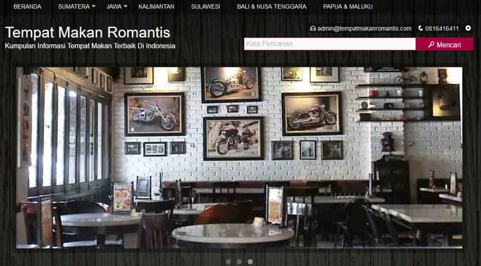 portofolio tempat makan romantis