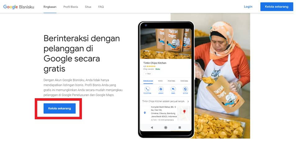 daftar Google My Business