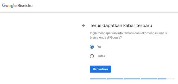 informasi bisnis Google