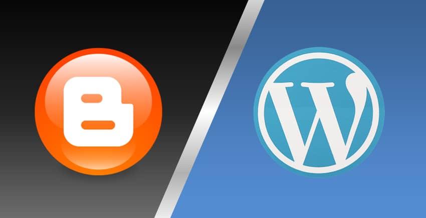 platform blogspot atau wordpress