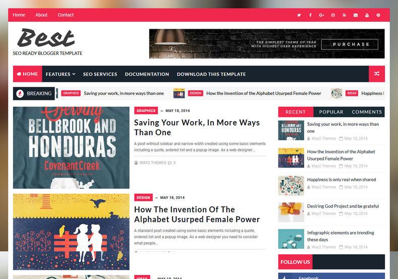 tema website seo ready